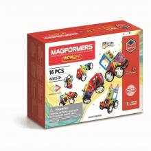 Magformers - WOW sæt, 16 dele