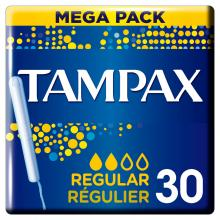 Tampax  mega pack - regular